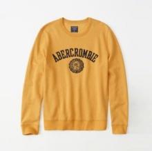 アバクロンビー&フィッチ Abercrombie & Fitch  長袖Tシャツ 3色可選 19新作 セール 大人OK イベント中 関税込