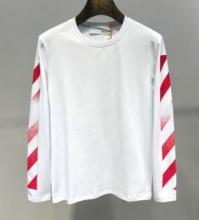 Off-White オフホワイト 長袖Tシャツ 2色可選 先着順 早い者勝ち限定 2019春夏新作コレクション