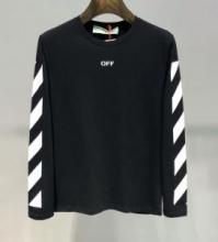 2色可選 長袖Tシャツ Off-White オフホワイト 春夏最新作 完売必至 19SS新作 カジュアルコーデに