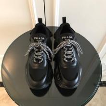 PRADAプラダ スニーカー コピー 激安 高級感をプラス2019トレンド 安定性を高め 快適 新作 靴1E586L_3L2H_F0967_F_075