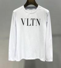 シンプルなデザイン使いやすいValentino スウェットシャツ クルーネック VLTN ヴァレンティノコピー 毎日使える万能パーカー