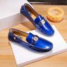 VERSACE MOCK CROC PRINT MEDUSA LOAFERS ヴェルサーチ 靴 メンズ コーデ おしゃれ履きこなす ビジネスシューズ