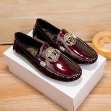 通勤靴 おすすめ ブランド ヴェルサーチ コレクション 靴 コピー VERSACEメンズ ローファーシューズ エレガント 評判高い