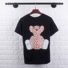 バーバリー VIP価格 海外発 BURBERRY 19SS 異素材 半袖Tシャツ 今年最流行 2色可選 今夏大人気 NEW!国内完売