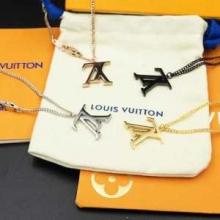 Louis Vuitton 秋冬新作ヴィトン ネックレス メンズ 人気 ブランド コピー おすすめ高級感漂う雰囲気LVロゴ シルバー アクセサリー