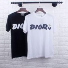お手頃価格 ディオール DIOR 完売大人気アイテム  2色可選 2019年夏 オススメ新作 半袖Tシャツ 麗なシルエット