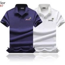 夏にピッタリのアイテム  ディオール 19SS 異素材 DIOR 今年最流行  2色可選 今夏大人気 半袖Tシャツ 爽やかな印象