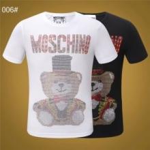 SS19完売必至 スタイリッシュな雰囲気  モスキーノMOSCHINO Tシャツ/半袖 肌に馴染みやすい 2色可選