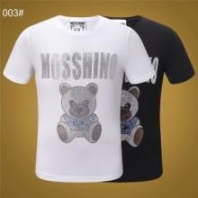 着回し度抜群 19SS春夏新作 VIPSALE とっても夏らしいアイテム MOSCHINO Tシャツ/半袖 2色可選