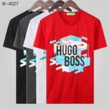 多色可選 完売大人気アイテム ヒューゴボス HUGO BOSS 2019年夏 オススメ新作  半袖Tシャツ 高品質な素材 即完売のアイテム