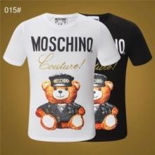 Tシャツ/半袖 頑丈な素材 自然な肌触り MOSCHINO モスキーノ 2色可選 2019新作 スマート一枚