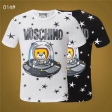 しわになりにくい MOSCHINO 2019限定新作 優しいフィット感 3色可選 Tシャツ/半袖モスキーノ