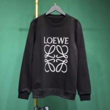 2019定番モデルを狙いたい ロエベ アナグラム スウェットシャツ ブラックLOEWE シンプルなデザイン人気上品H6169410OF