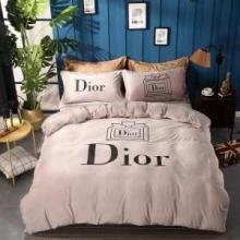 寝心地に優れる4点セット おすすめDIORブランド コピー 布団カバーセット 丸洗いできる布団 安い価格 エレガント 寝具セット