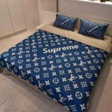 心地良い眠りおすすめモノグラム寝具セットSupreme x LOUIS VUITTON人気  シュプリーム 安いエレガント 評判高い4点セット
