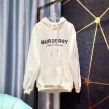 偽 ブランド 購入_抜群のフィット感ロゴプリント バーバリースウェットシャツ人気色コットンフーディー Burberryスーパーコピー新作80095091