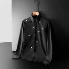 大人めいた雰囲気に仕上げるモデル DIOR シャツ ディオール 服 メンズ スーパーコピー 黒白 刺繍 ストリート 相性抜群 セール