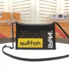 ショルダーバッグ レディース Louis Vuitton おしゃれな気品が漂うモデル ルイ ヴィトン バッグ コピー ブラック グレー 最安値
