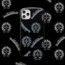 クロムハーツ iphone11 11pro 11ProMax スマホケース ブランド コピー ロゴプリント2019/20 人気ランキング CHROME HEARTS