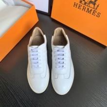 偽物 ブランド_2020期間限定HERMES エルメス《クイッカー》 スニーカー コーデ シンプルなファッション 履き心地 白スニーカー 人気おすすめ