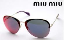 ミュウミュウ  サングラス レディース メガネ 眼鏡 MIUMIU  SUNGLASS レディース アバンギャルド♥♡