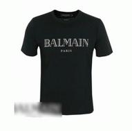 2017春夏新作 可愛くて涼しいBALMAIN バルマンロゴプリント半袖Tシャツ