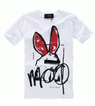 HOT新作登場アレキサンダー マックイーンMcQ Liesa Bunny Boyfriend 半袖 Tシャツ通気性良い