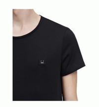 春夏爆買いセール通気性良いACNE アクネ Nash face  tシャツ 半袖 コットン 綿  2色可選 男女兼用