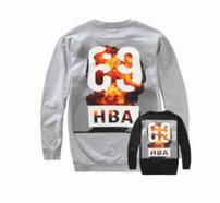 秋冬お買い得新品HBA フッドバイエアー バックプリント HBA69 インナー 長袖 Tシャツ トップス HMBA003F15002006 1088