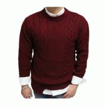 秋冬限定セール低価ACNE アクネ ニット 非対称ニット ケーブルニット セーター クルーネック 長袖 メンズ 3色可選