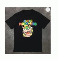 爆買い大得価MOSCHINO モスキーノ tシャツ ロゴ プリント 半袖 オリジナル カジュアル 綿 コットン 2色可選 男女兼用