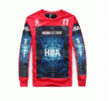 秋冬爆買い格安HBA フッドバイエアー 偽物 プリント tシャツ 長袖 吸汗速乾 コットン ストリート系 トップス 3色可選