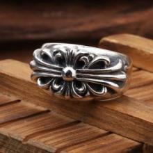 品質保証低価CHROME HEARTS クロムハーツ コピー フローラル クロス シルバー リング 手彫り 指輪 アクセサリー