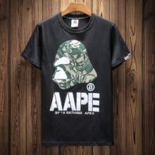 もう手に入れた? 2018年最旬トレンド 半袖Tシャツ 3色可選 ア ベイシング エイプ A BATHING APE