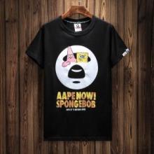 2018新作 高級感を演出する 半袖Tシャツ ア ベイシング エイプ A BATHING APE 2色可選