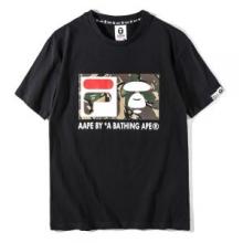 春夏お買い得大人気A BATHING APEアベイシングエイプ 通販迷彩猿プリント tシャツカットソー半袖2色可選