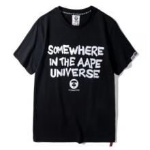 注目度アップ! 半袖Tシャツ ア ベイシング エイプ A BATHING APE 2色可選 2018年最新人気