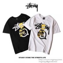 2色可選 2018年最旬トレンド ステューシー STUSSY 半袖Tシャツ 春季超人気アイテム