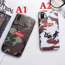 2色可選 2018年春夏新品 iphoneX ケース カバー シュプリーム SUPREME オシャレ度アップ