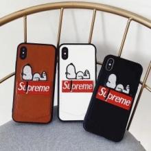 iphoneX シュプリーム SUPREME 2018ss トレンド 今さら聞けない! カバー 3色可選