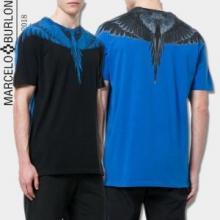 春夏品質保証低価MARCELO BURLONマルセロバーロン tシャツ コピー通気性良い丸首半袖カットソー3色可選