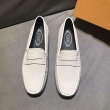 2018品質保証定番TOD'Sトッズ コピーGomminoクラシックレザーローファーシューズメンズ紳士靴黒白2色可選