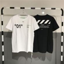 半袖Tシャツ OFF WHITE CO VIRGIL ABLOH  オフホワイト    2色可選 2018年最新人気