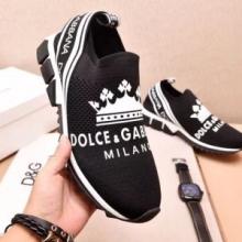 2018最新入荷DOLCE&GABBANAドルガバ コピースニーカーソレントプリントCS1595AU448HNR18靴黒白全2色