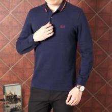 存在感を発揮する ヒューゴボス2018年秋冬新品 HUGO BOSS 2色可選 早い者勝ち長袖/Tシャツ