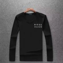 2018年最新人気 ヒューゴボス総合ランク高きアイテム HUGO BOSS 4色可選 長袖/Tシャツ