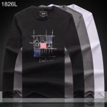 有名モデル愛用アイテム アルマーニ ARMANI 安心の国内配送3色可選 長袖/Tシャツ