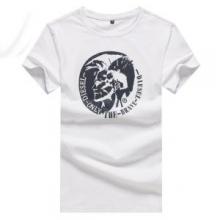 2019年春夏流行ファッションDIESEL Mohican ロゴ Long Sleeve Tee ディーゼル Tシャツ コピー 着こなし 上質 4色 クルーネック 半袖
