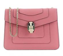 VIPセール人気商品ブルガリ コピーBVLGARI 287016 SERPENTI ショルダーバッグ 安い ブランド 最高品質 かわいいバッグ ピンク