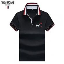 トムブラウン THOM BROWNE 買付済み?海外即発  Tシャツ/ティーシャツ 売切続出 3色可選 SS19残り僅